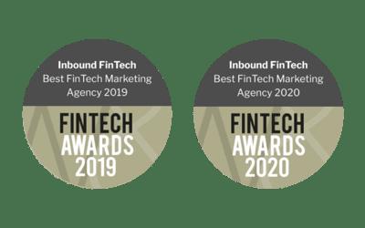 Best FinTech Marketing Agency - Inbound FinTech | FinTech Awards 2019 & 2020