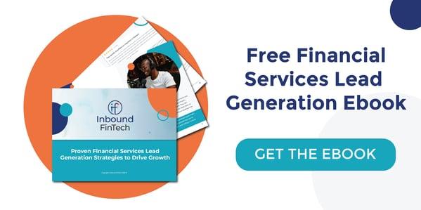 Financial Services Lead Generation Ebook - Inbound FinTech