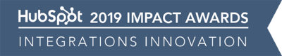HubSpot Impact Awards 2019 | Integrations Innovation