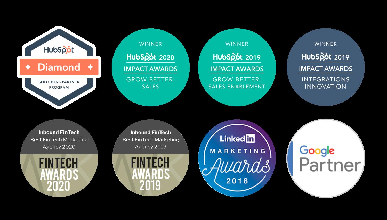 Digital marketing awards | Inbound FinTech