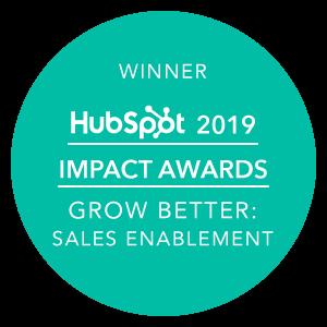 IFT-Awards-banner-HubSpot-Grow-Better-Sales-Enablement-2019