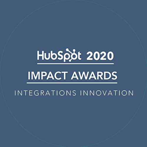 IFT-HubSpot-Impact Award 2020 - Integrations