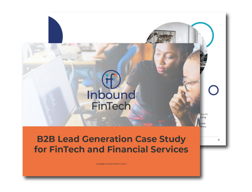 B2B Lead Generation Case Study for FinTech & Financial Services companies